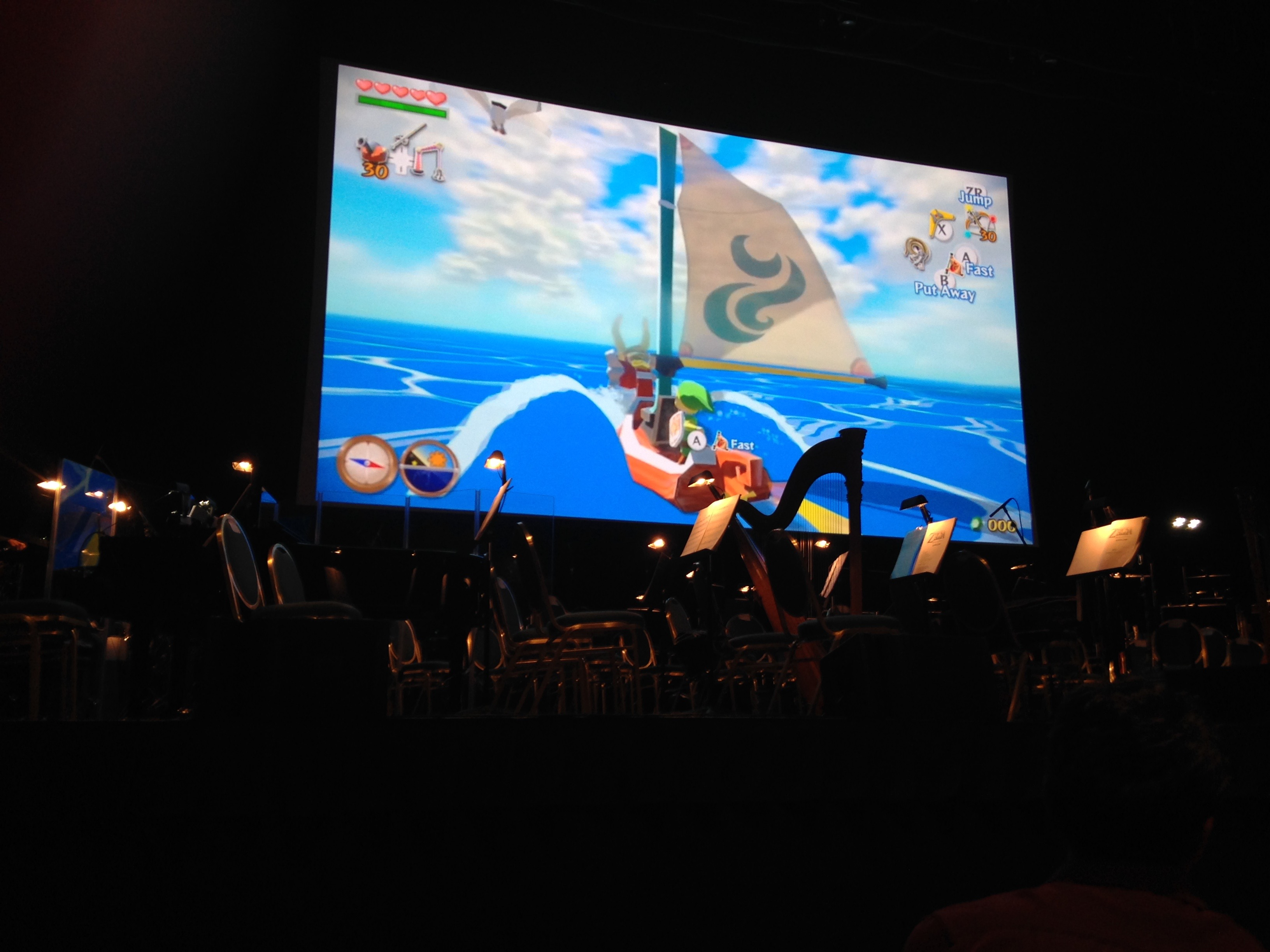 The Symphony of the Goddesses stage