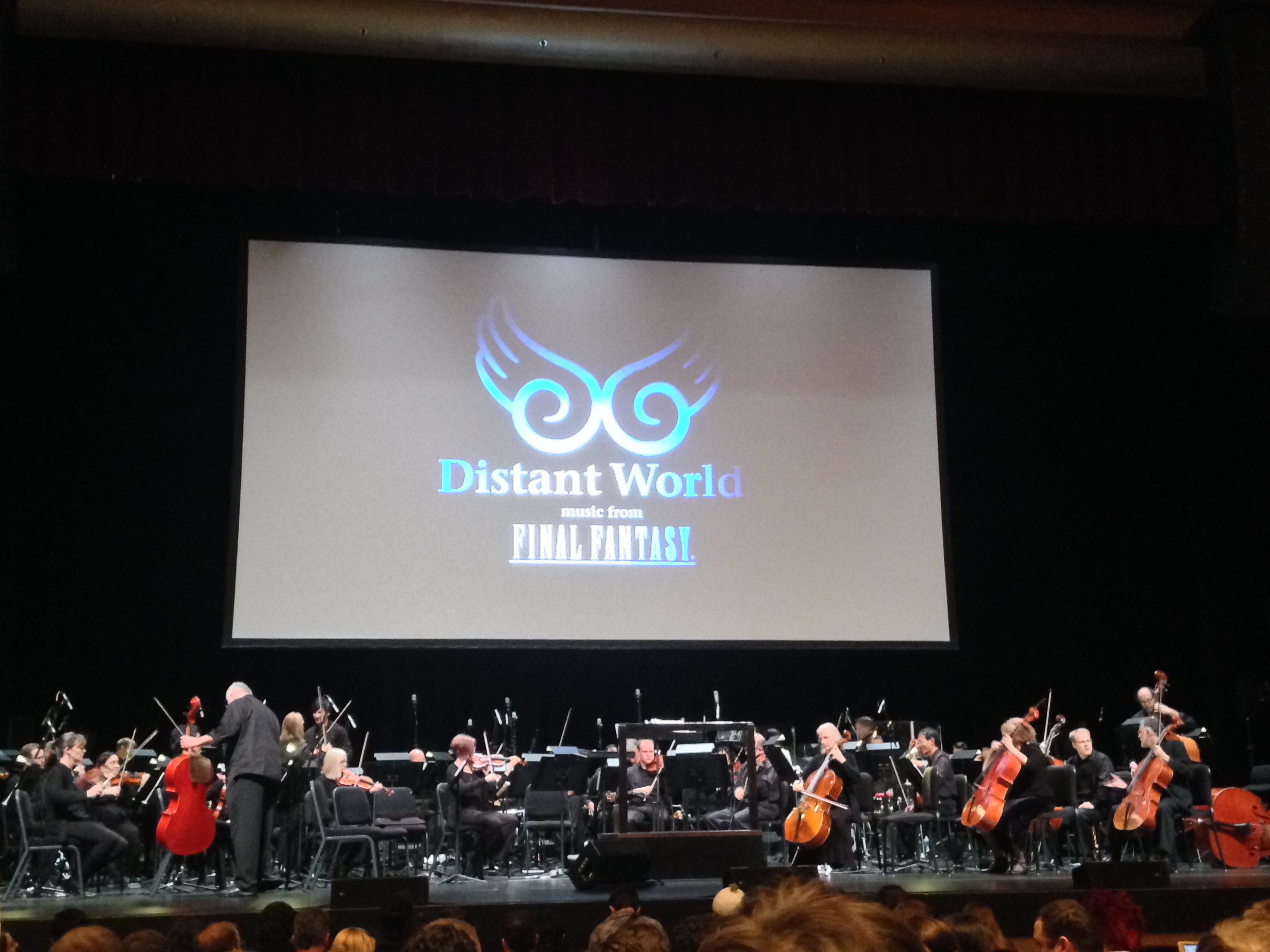 The Final Fantasy Distant Worlds stage